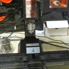 CNC machine for watch gear cutting