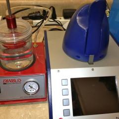 Diablo and Greiner vibrograph poseidon water pressure testing machines