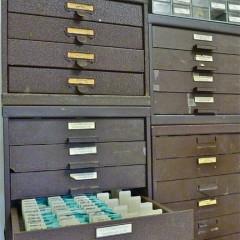 stock of original vintage crystals