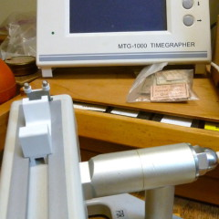 Timegrapher for testing automatic watch movements