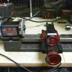 electronic watch maker lathe